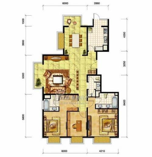 绝对拿得出手 三居客厅家庭影院方案