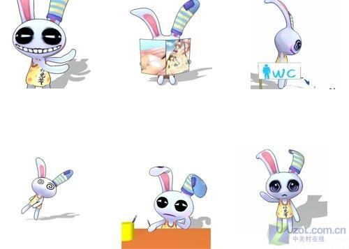 其中不伐q版可爱风格的宠物,比如这个q版宠物的代表——野月兔.