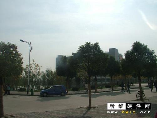 风景优美的安徽新华学院校园