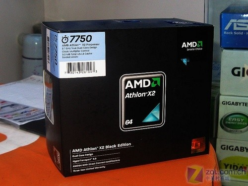 AMD 45nm 双核7750到货