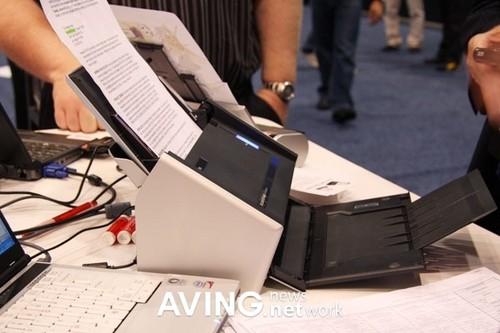 CES2009:富士通最新高速扫描仪亮相