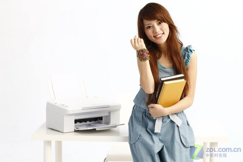 阳光美少女 爱普生me系列打印机图赏