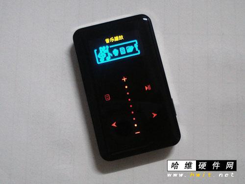 mp3——x21,其采用了一触即红滑动触摸操作方式,巧克力外形设计非常