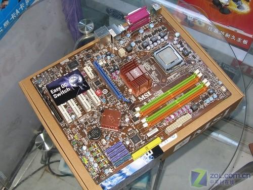 微星p43 neo3-f主板图片