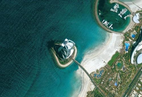 GoogleEarth看地球 世界最高星级酒店