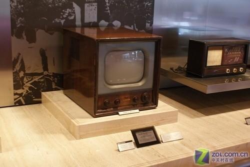 早期显像管电视