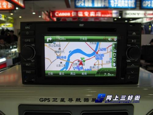 专车专用 福克斯路特仕导航娱乐系统到货