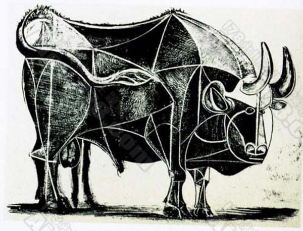 大乱弹毕加索的牛 高清图片