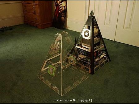 金字塔机箱,让你当上电脑法老王