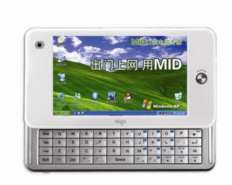 兼容XP,aigo MID 09年继续强势出击