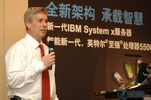 IBM全球首发新一代至强5500服务器