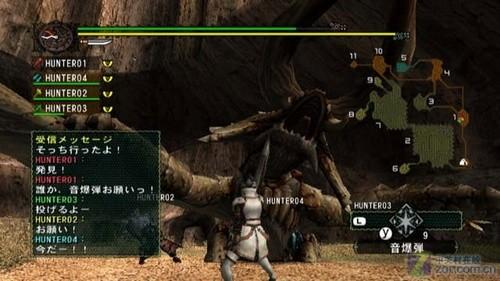 ...人协力游戏,但联机是要收费的.想玩《怪物猎人G》的对战模...