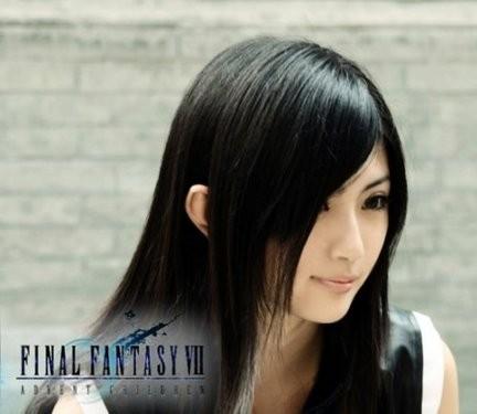 《最终幻想7》Tifa超清纯唯美COS赏