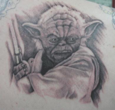 欧美铁杆玩家游戏纹身赏图片