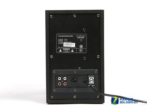 4吋低音简约设计 百元级装机音箱评测