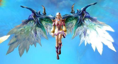 永恒之塔的翅膀令人神往-挥着翅膀的wow