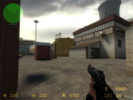how to open command prompt in counter strike source