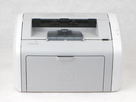 快看 买惠普1020激光打印机还送背包