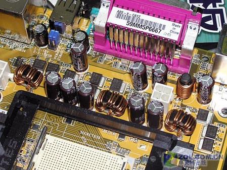 华硕A8S-X主板供电模块