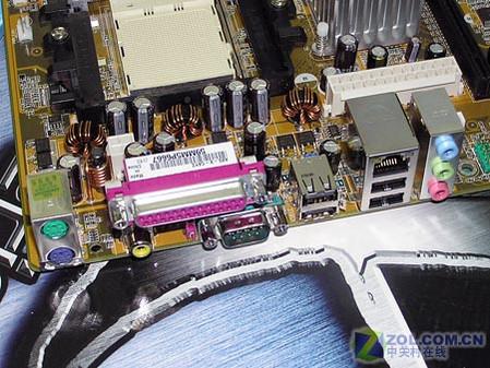 华硕A8S-X主板I/O接口