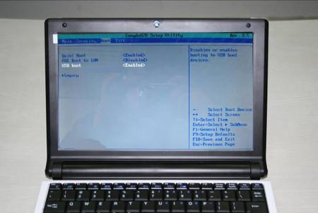 如何用U盘给上网本安装XP系统