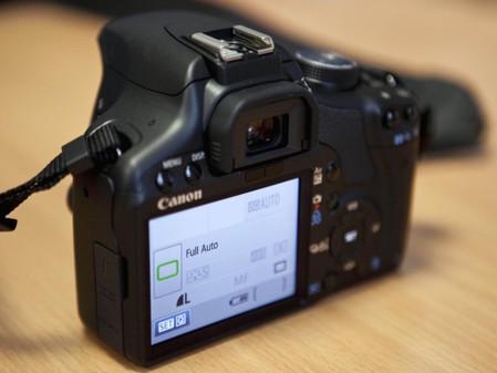 图为:佳能数码单反相机500D-到底靠不靠谱 佳能500D高清视频抢先赏