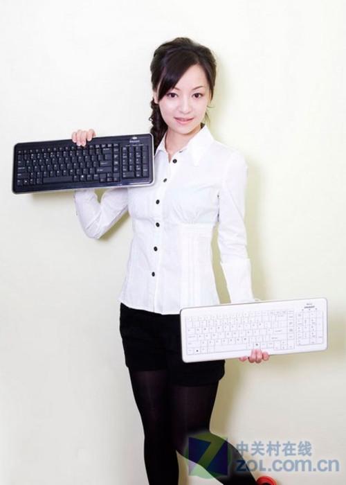 键盘 普拉多/女白领展示普拉多KB/820键盘