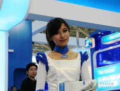 台北电脑展09首日美女PK