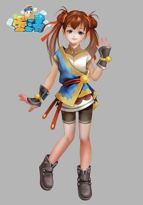 《蛋清ol》人物鉴赏:俏皮可爱的女刺客
