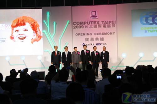 1712家厂商 COMPUTEX台北电脑展开幕