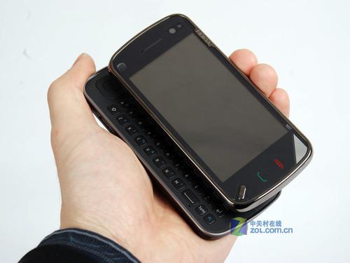 图为:诺基亚N97手机-诺基亚暑促领跑 8月全球热销手机排行榜