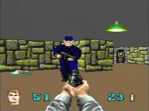 作为最早的3d游戏引擎之一《wolfenstein 3d》(德军总部3d)...