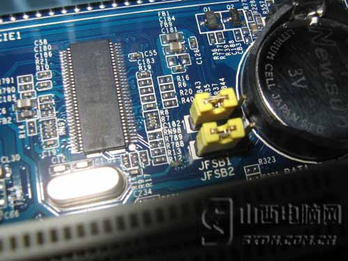 超频跳线-Intel入门级首选 昂达G41太原低价售图片