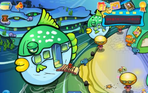 网页游戏《海底世界》产品的十大特色