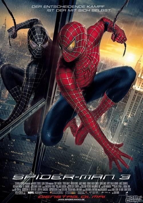 《蜘蛛侠3》电影海报
