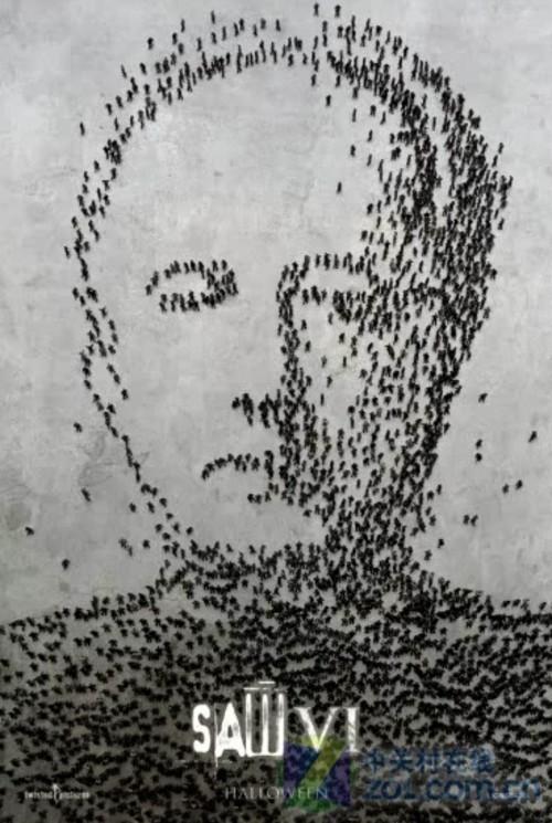 2,《电锯惊魂Ⅵ》发布首款酷炫动态海报 导演:凯文·格劳特 上映日期