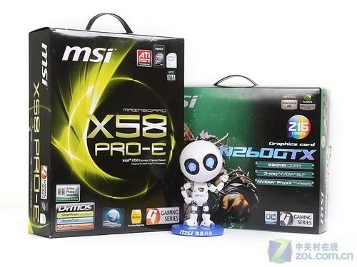 累计降价达400元 微星X58配GTX260促销