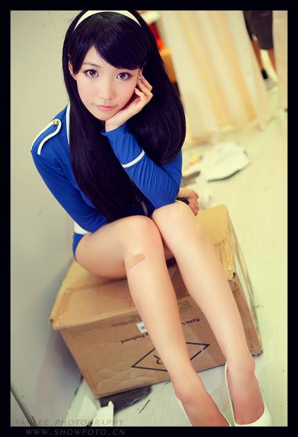 腾讯蓝色妖姬小訫更衣室私密照一览无余
