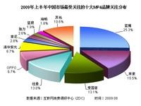蓝魔日益强大 09年上半年MP4品牌研究