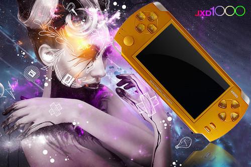 激情色诱  迷你游戏机JXD1000热卖