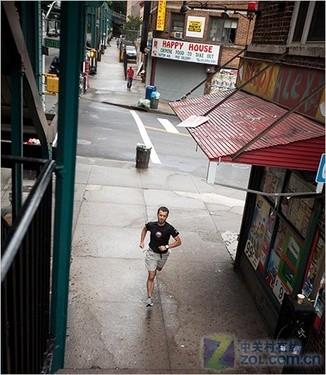 户外运动变艺术 外国爱好者如何用GPS