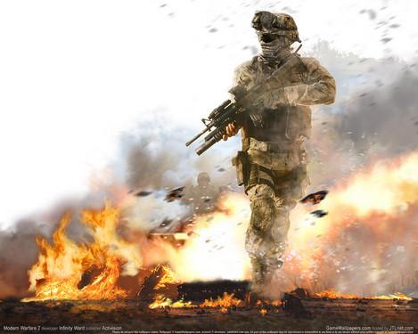 《使命召唤 现代战争2》游戏壁纸下载