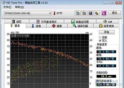 性能大幅提升 希捷7200.4 500GB笔记本硬盘试用