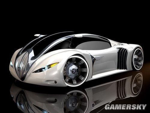 华丽的渲染效果!看10年后的极品飞车