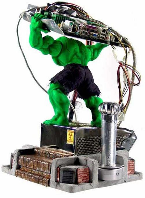 绿巨人震撼来袭 国外最强mod机箱创意