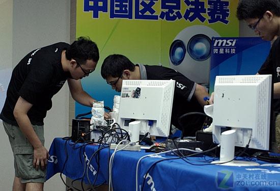 抱走万元现金 微星MOA2009中国区结束