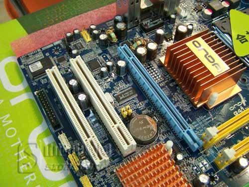简易跳线超频设计 昂达G41主板图片