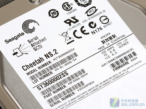 希捷NS.2硬盘独家拆解