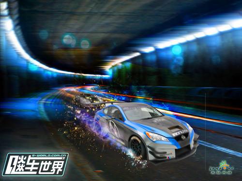 《飚车世界》燃情封测 9月9日正式开启