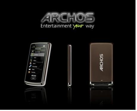 全新视听享受 ARCHOS 3成时尚一族新宠
